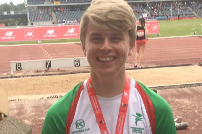 Glorious gold for Capes and a super silver for Purbrick in the English School Championships