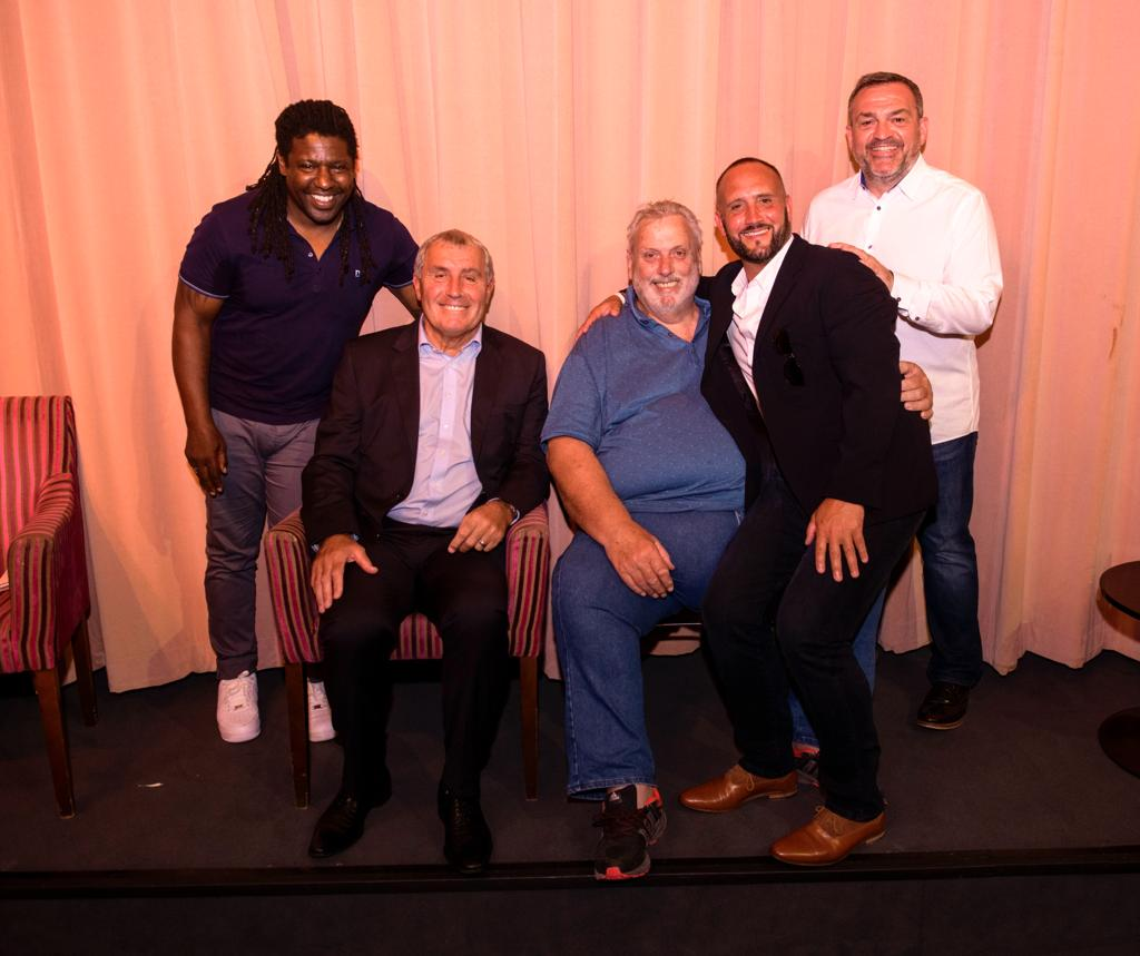 Evening with Geoff Capes & special guests Peter Shilton, Rufus Brevett and Craig Ramage