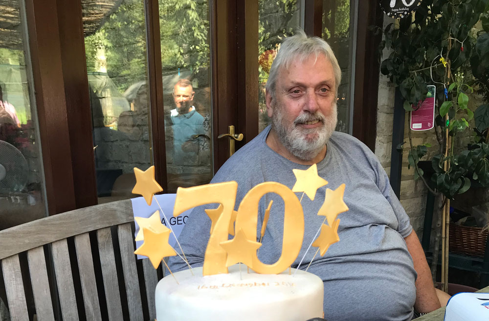 Geoff Capes is 70 years young